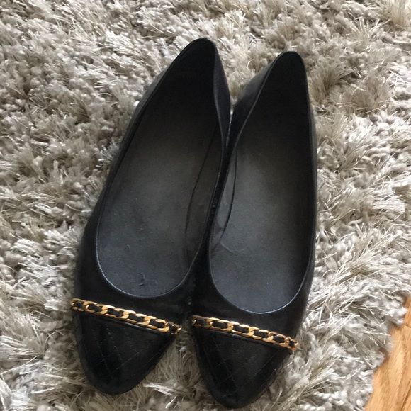 Stuart Weitzman Womens Sal Loafers Flats Brown Patent Leather Size 7 M